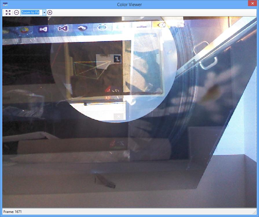 RGB Kinect image